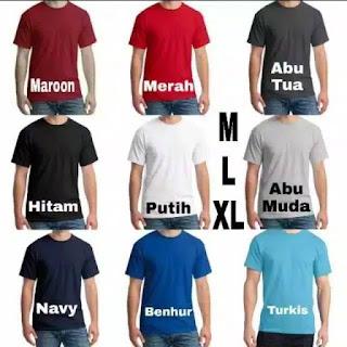 Distributor Kaos Polos Polyester Asli di Karimun