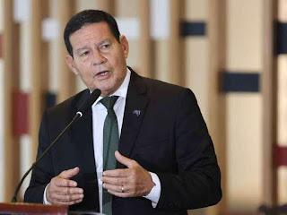 Mourão vai exonerar assessor que vazou conversa do vice-presidente da República