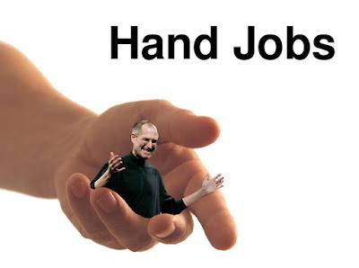 Steve jobs on hand