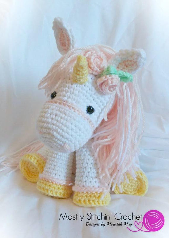 Jazzy the Unicorn | Recipe | Crochet unicorn pattern, Crochet ... | 803x570