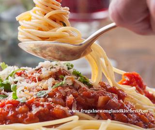Homemade Spaghetti Sauce Recipe Red Gravy Pasta Sauce Recipe