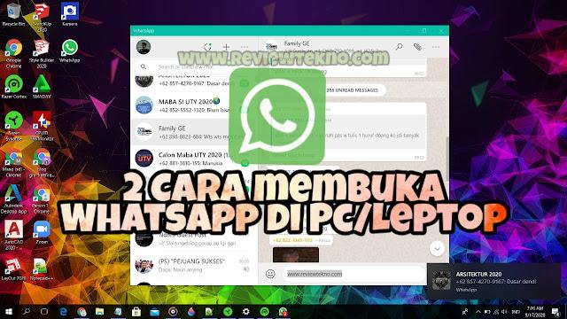 Cara Mudah Membuka WhatsApp di Laptop Terbaru!