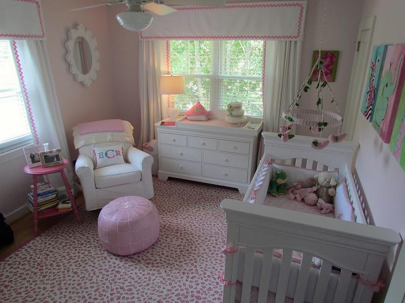 Preppy Pink Green Nursery Julia Ryan