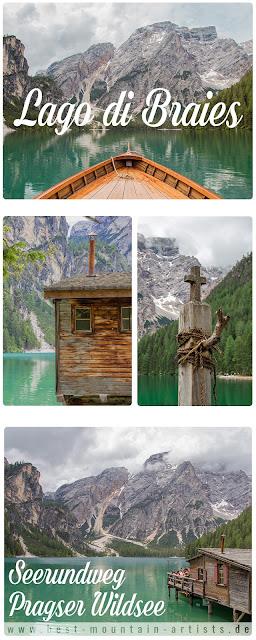 Seerundweg Pragser Wildsee  Lago di Braies  Südtirol