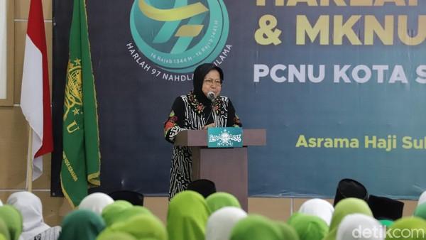 Momen Risma Pamit Sebagai Wali Kota dan Titip Anak-anak di Surabaya