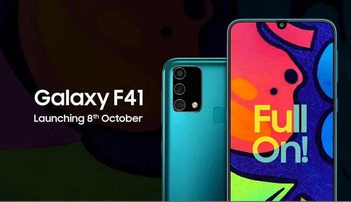 Samsung Galaxy F41 maroc