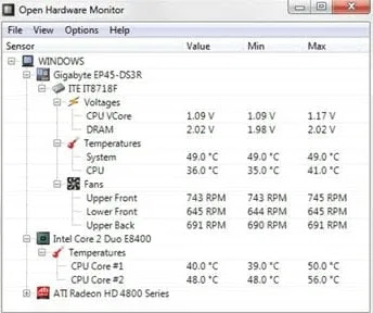 How to check best CPU Temperature Range