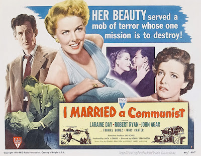 Poster - I Married a Communist (aka The Woman on Pier 13, 1949)