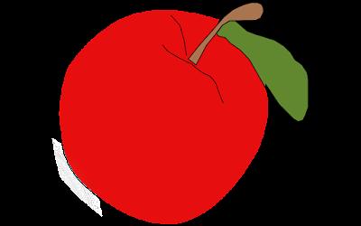 clip art buah apel
