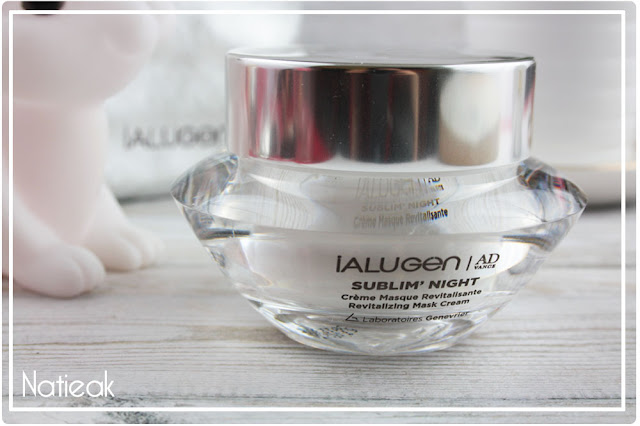 Sublim'night  de Ialugen : crème masque revitalisante