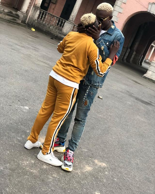Rapper Zlatan's girlfriend, Seyi shows off their beautiful baby