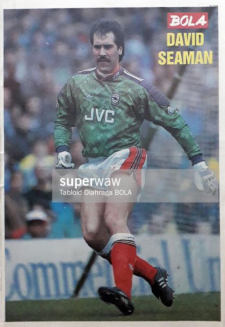 DAVID SEAMAN ARSENAL 1991