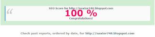 Tips meningkatkan skor SEO Blog hingga 100%