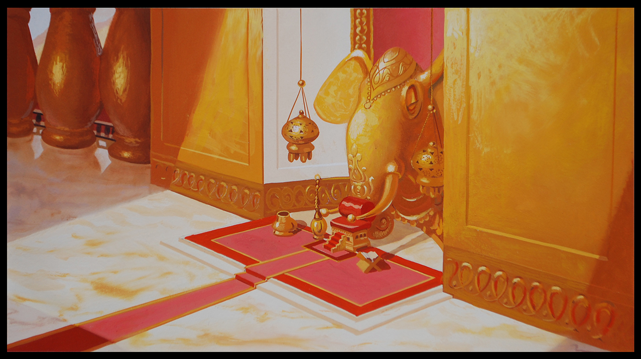 background paintings  Kevin Turcotte Art