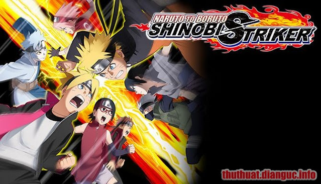 Download Game Naruto to Boruto Shinobi Striker Full Crack