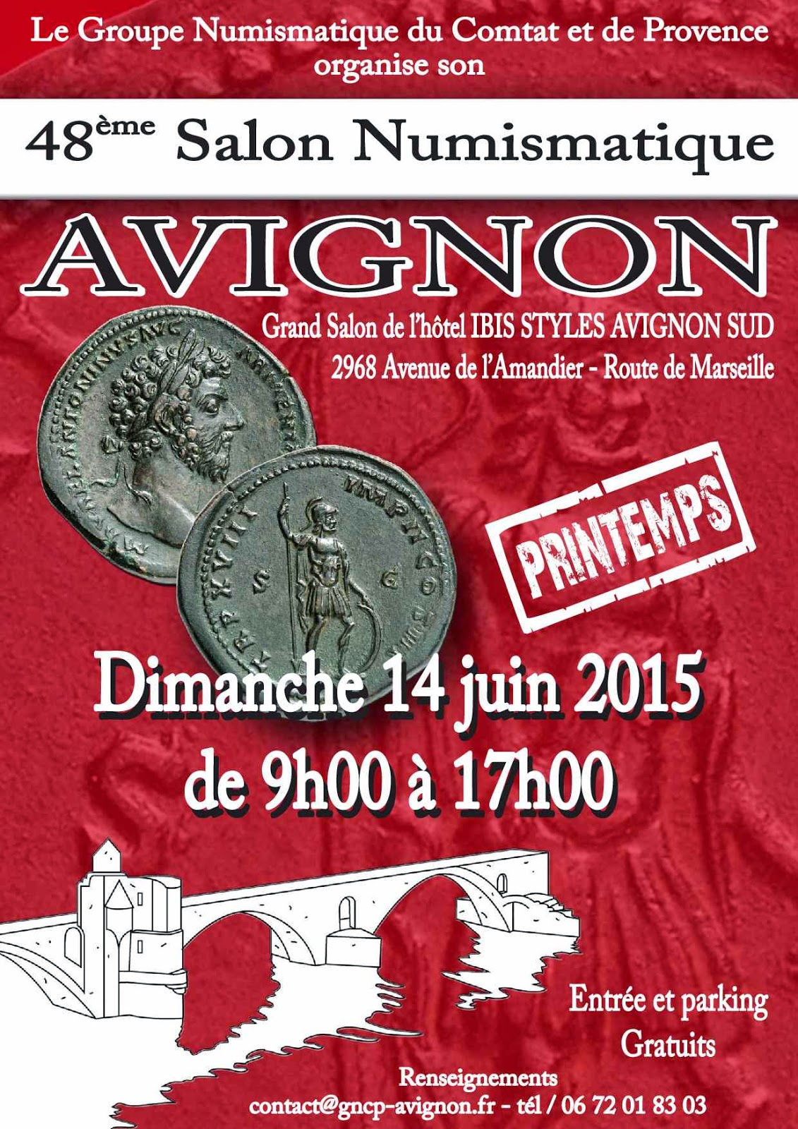 Salon Numismatique Club Numismatique Nîmois Mai 2015