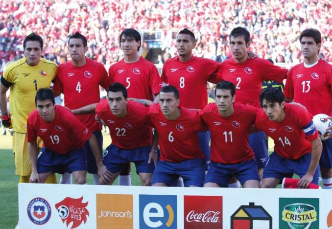 Formación de Chile ante Irlanda del Norte, amistoso disputado el 30 de mayo de 2010
