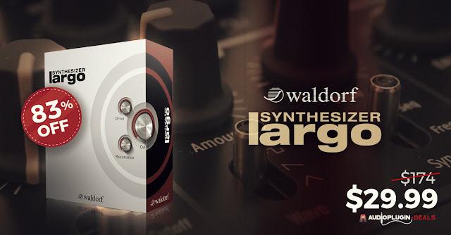 83% off waldorf largo synth audio plugin deals