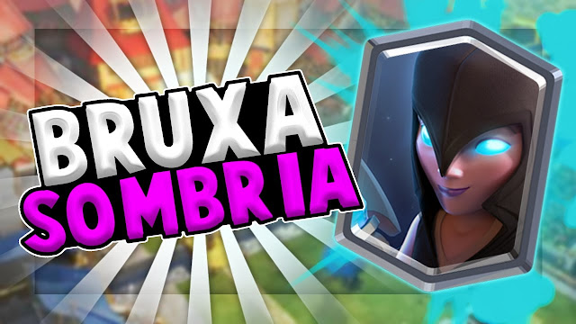 Novo Desafio Bruxa Sombria - Clash Royale