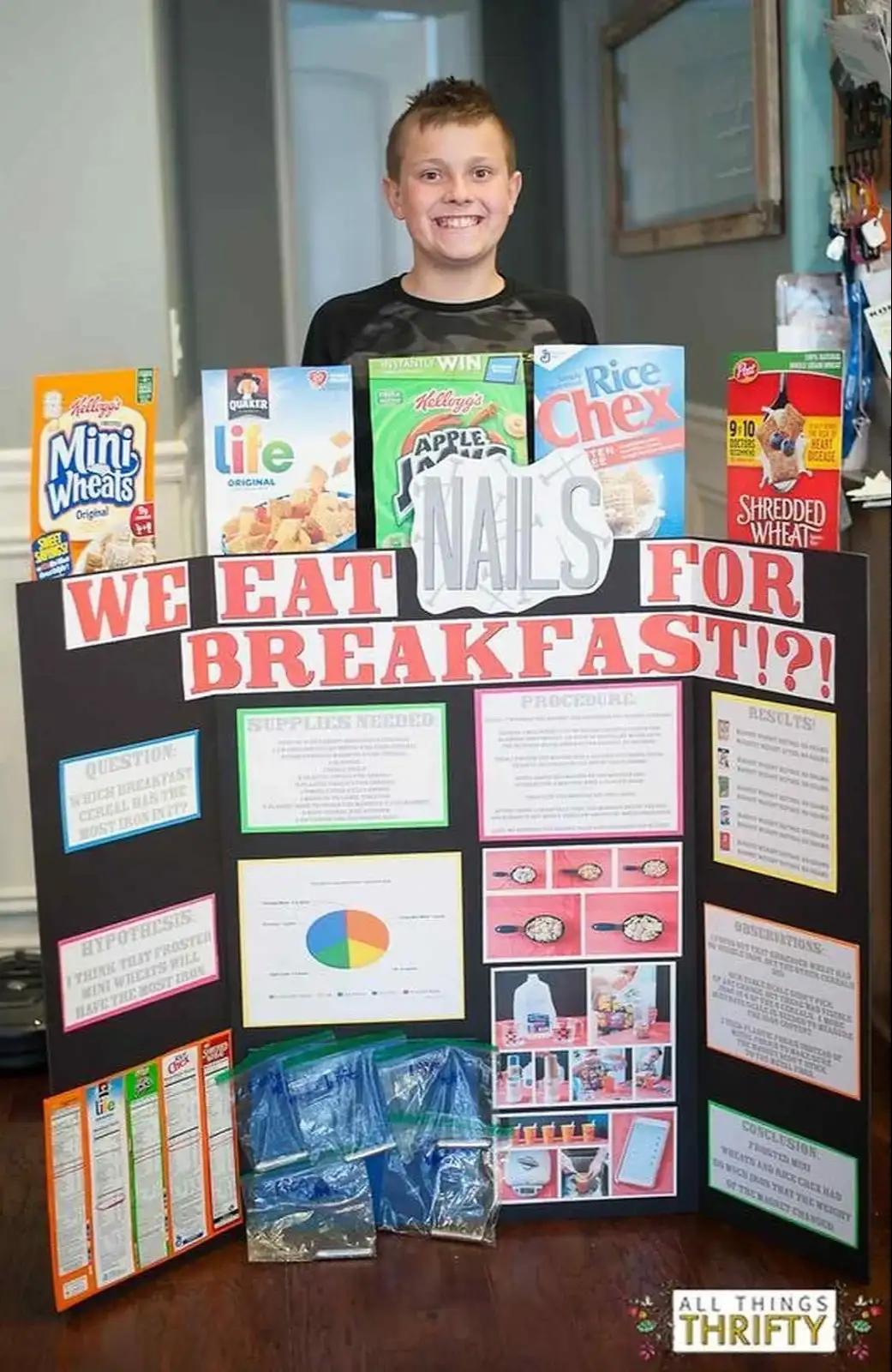 8th Grade Science fair Project