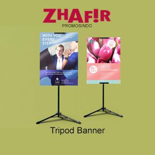 Cetak Tripod Banner