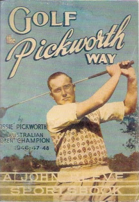 Cover of Ossie Pickworth golf book