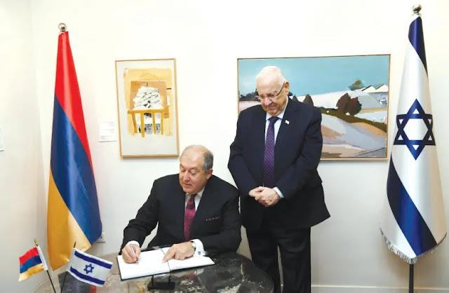 Israel no vencerá el antisemitismo - Armen Sargsyan