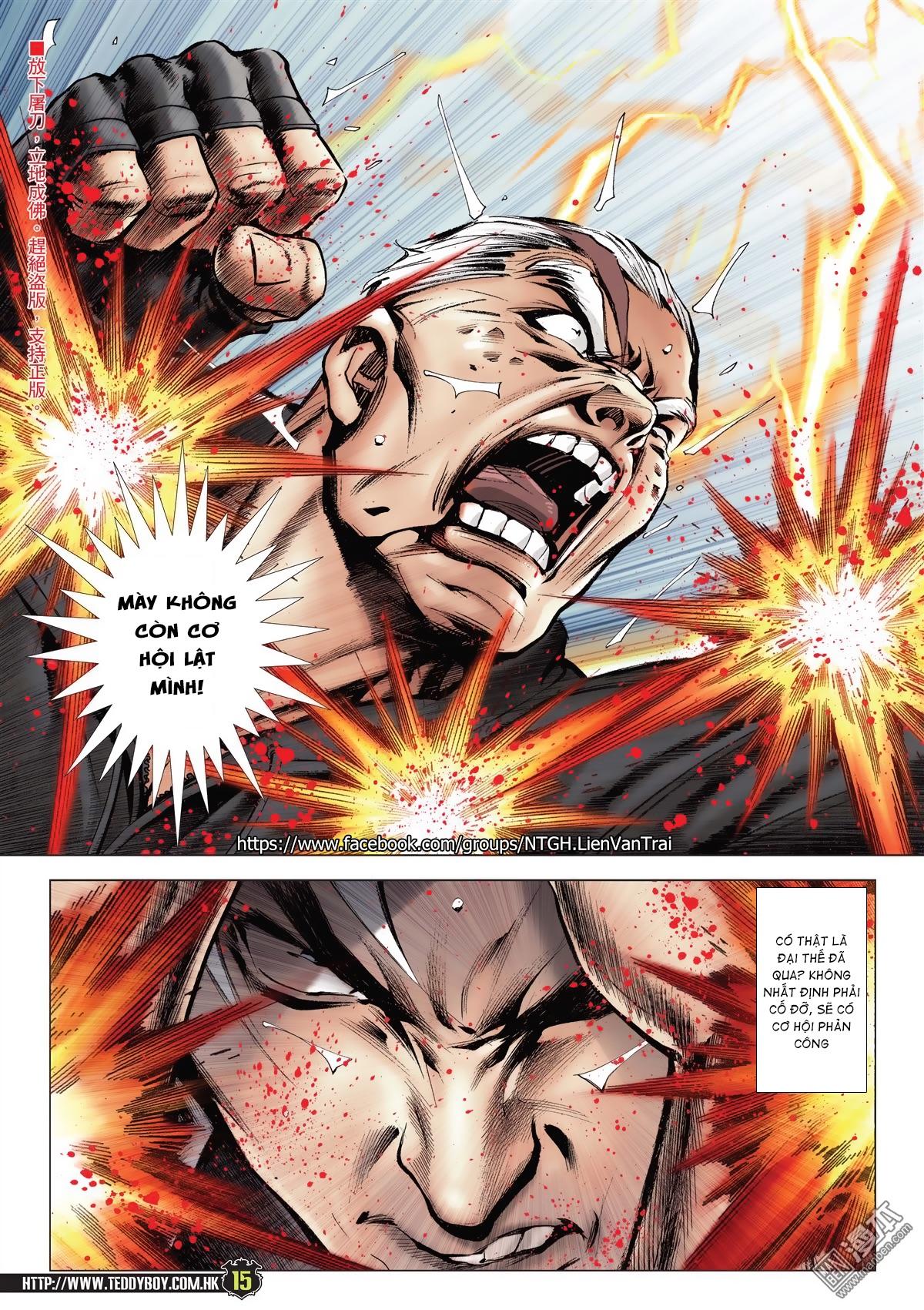 Người Trong Giang Hồ chapter 2052: hàn tân chiến thiên thu 3 trang 14