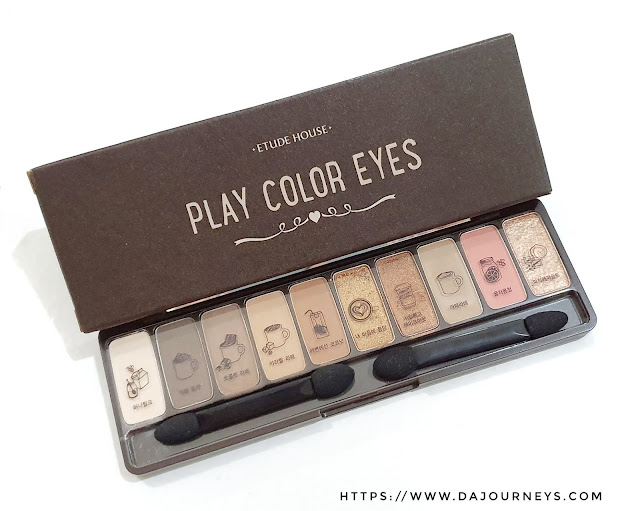 [Review] Etude House Play Color Eyes In the Cafe