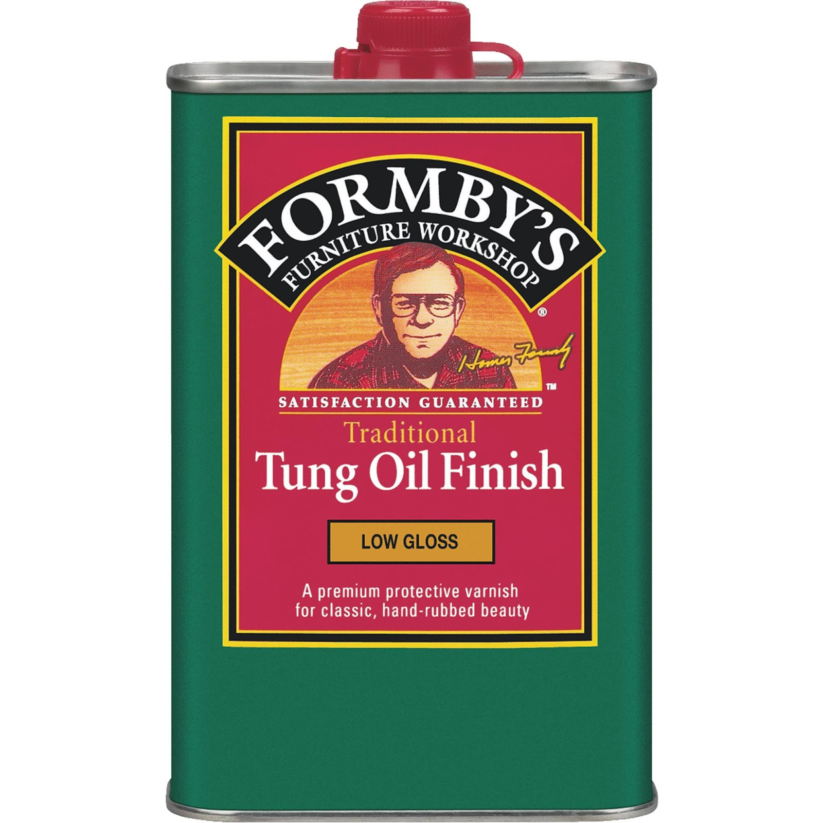 Tung oil to protect wood counters