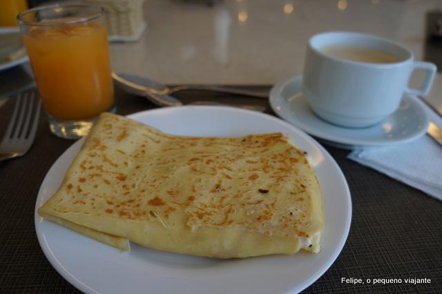 café da manhã no Hotel Ferradura Resort em Búzios