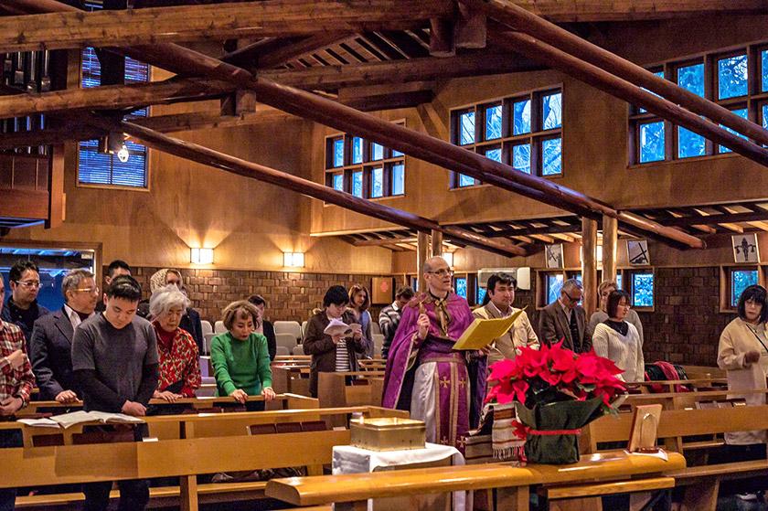 Хоча більшість засновників церкви та людей, які вважають себе її парафіянами, є українці, котрі проживають в Японії, втім, регулярно відвідують його богослужіння саме японці