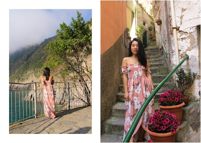 How to wear long dress for petite