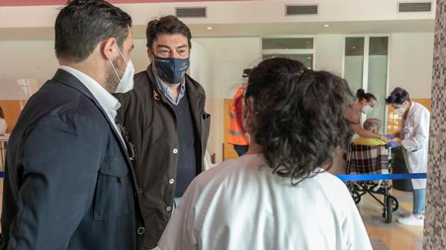 """Barcala pide un aumento del ritmo de vacunación para """"poder recuperar cuanto antes la normalidad"""""""