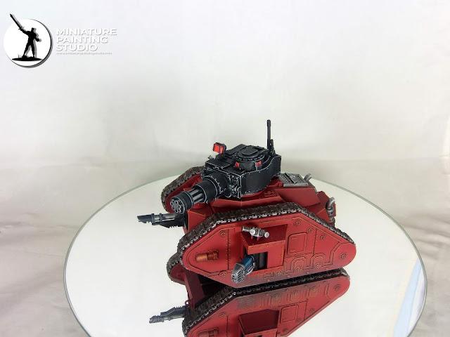 Leman Russ Battle Tank with alternative tower from kromlech