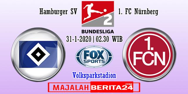 Prediksi Hamburg SV vs Nurnberg — 31 Januari 2020