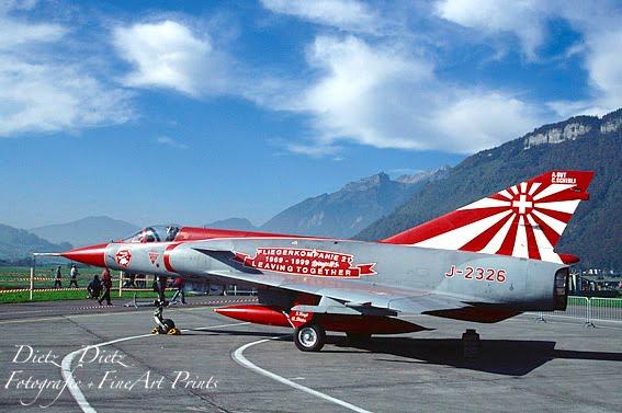 Mirage IIIS J-2326 - Sonderanstrich der Fliegerkompanie 21