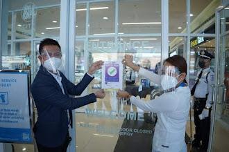Safety Seal awarded to SM City Urdaneta Central