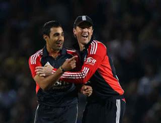 Ravi Bopara 4-10 - England vs West Indies 1st T20I 2011 Highlights