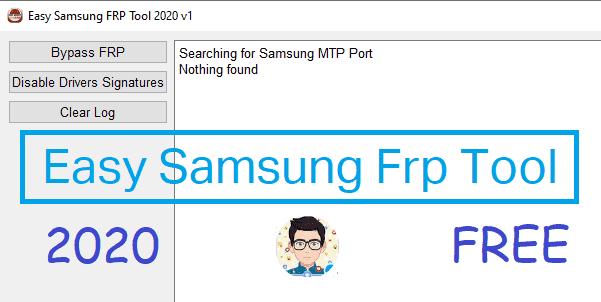 برنامج Easy Samsung Frp Tool تخطي جوجل اكونت جميع هواتف سامسونج
