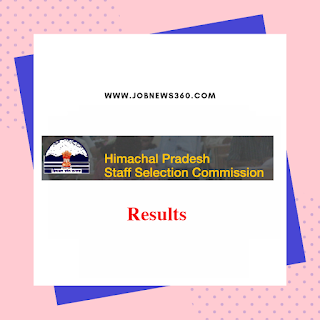 HPSSC Clerk Result 2019 Published @ hpssb.hp.gov.in