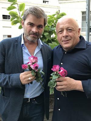 baptême rosier Thierry Marx