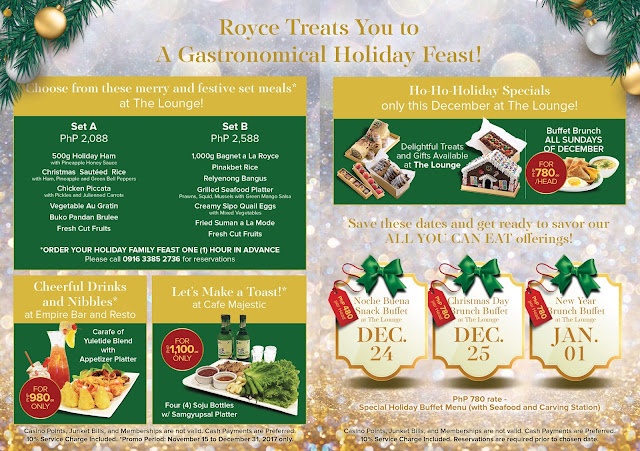 Royce Hotel and Casino Holiday of Surprises