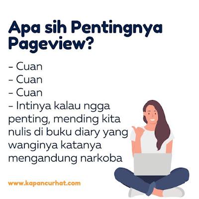 pentingnya pageview