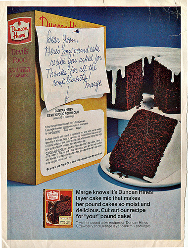 Dying For Chocolate Devil S Food Cake Retro Ads Amp Recipes