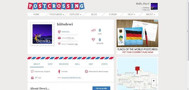 Pertama Kali Mengirim Kartu Pos (Postcard) ke Luar Negeri