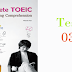 Listening Complete TOEIC - Test 03