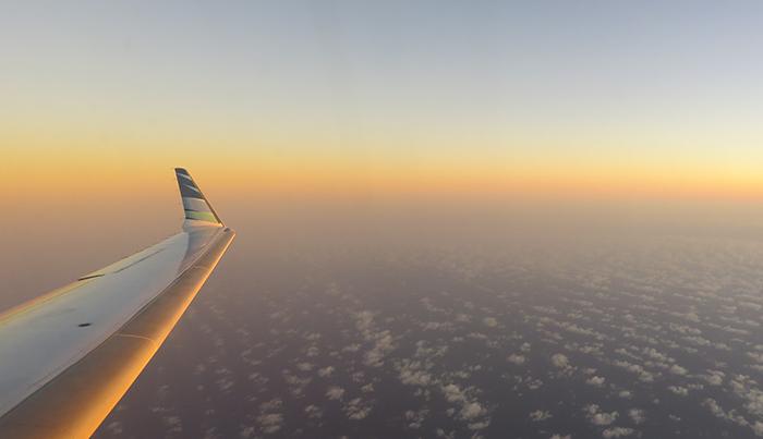 Menyambut Pagi di Langit