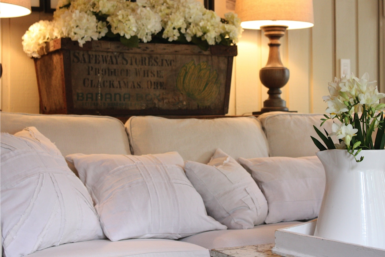 White Company Sofa Throws Cama Con Abatible My Sweet Savannah A Few New Things In Our Living Room