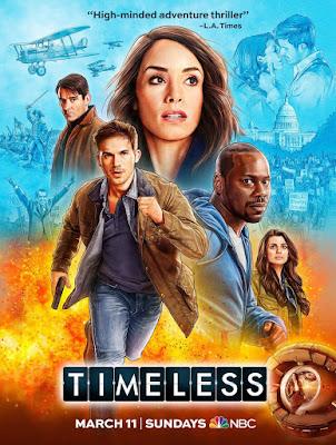 Timeless Season 2 Poster